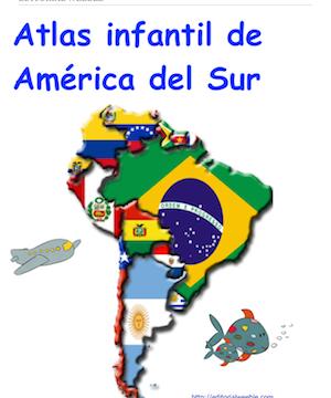 Atlas infantil de America del Sur
