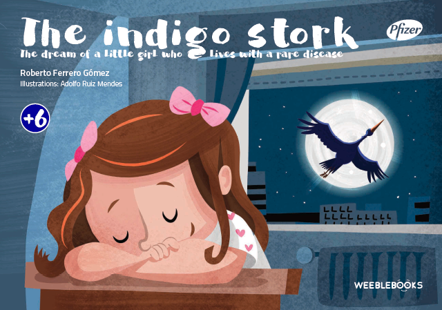 The indigo stork