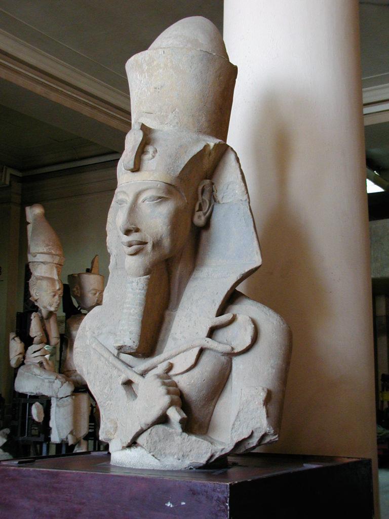 Faraón Akenaton