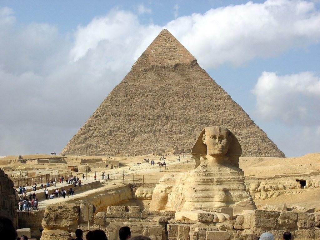 Los Faraones del Antiguo Egipto. Pirámides de Egipto