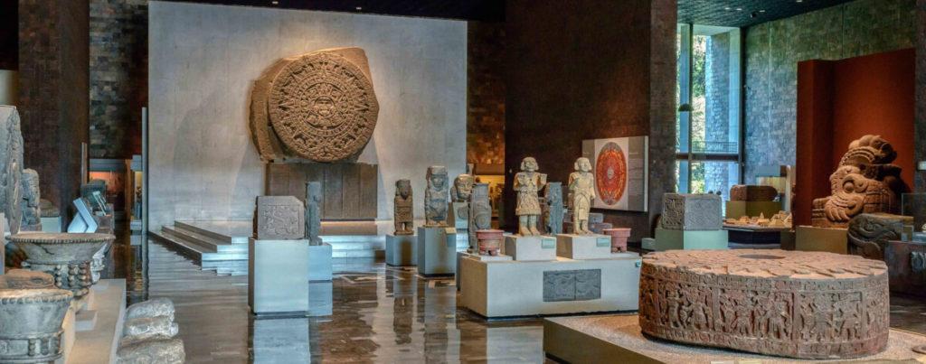 Museos del mundo. Museo Nacional de Antropología de México