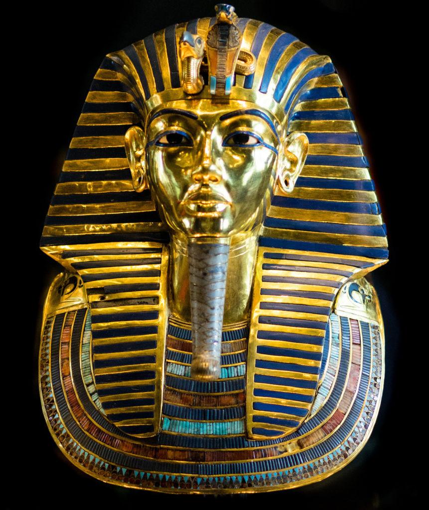 La máscara de Tutankamon