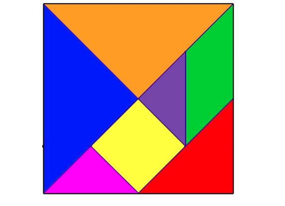 Quinto paso tangram