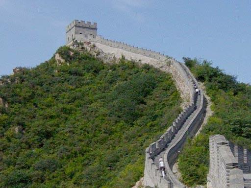 torre de vigilancia de la muralla china