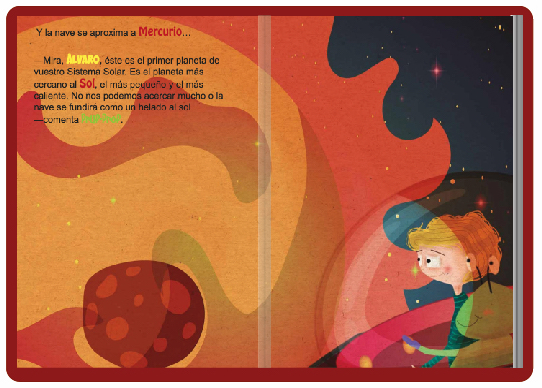 Libro personalizado Tu primer viaje al Sistema Solar
