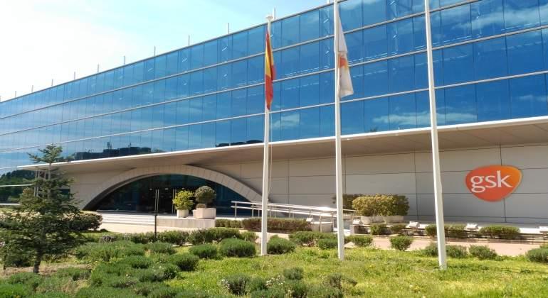 Facahada edificio GSK